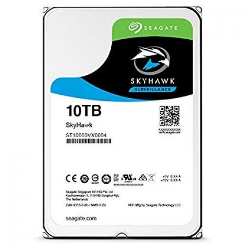 """Seagate SkyHawk 10TB 3.5"""" Surveillance Hard Drive"""