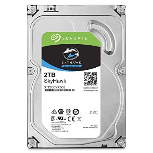 """Seagate SkyHawk 2TB 3.5"""" Surveillance Hard Drive"""