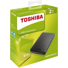 Toshiba Canvio 2TB Portable USB 3.0 External Hard Drive