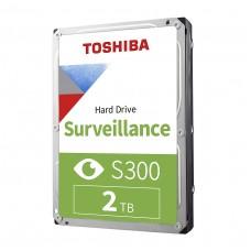 "Toshiba S300 2TB 5400rpm 3.5"" Surveillance Hard Drive"