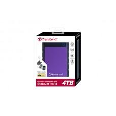 """Transcend StoreJet 25H3 4TB USB 3.1 External 2.5"""" Portable Hard Disk"""