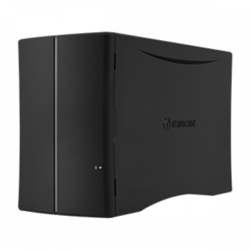Transcend 8TB 2-Bay Storejet Cloud 210