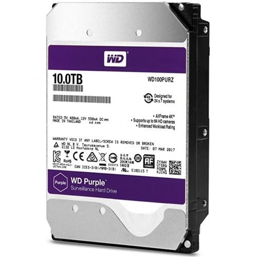 Western Digital 10TB Purple Surveillance HDD