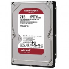 Western Digital Red 2TB Nas Storage Hard Disk Drive.