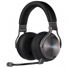 Corsair Virtuoso SE High-Fidelity 7.1 Surround Sound RGB Wireless Gaming Headphone Gunmetal