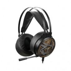 A4tech G650S USB Dazzling Orange Light Gaming Headphone Black