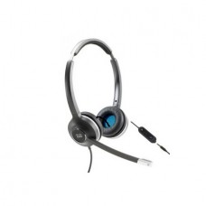 Cisco 522 Wired Dual 3.5mm Binaural Headset with USB-C Headset Adapter