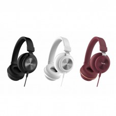 Havit H2263D 3.5mm Metal Decoration Single Port Headphone