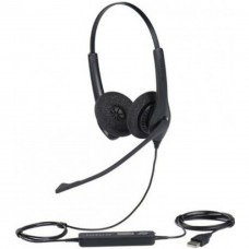JABRA BIZ 1500 Duo (Dual Ear) USB Headphone Black