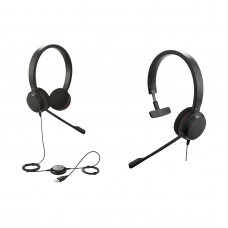 Jabra Evolve 20 Stereo Or Mono Headphone