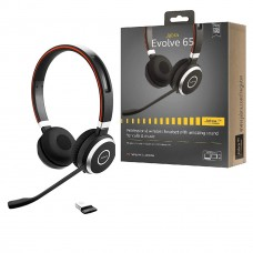 Jabra Evolve 65MS DUO Professional Wireless Headphone Black