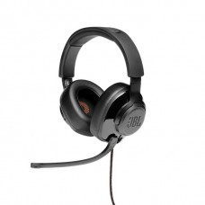 JBL Quantum 300 Wired Over-Ear Gaming Headphone with Flip-up Mic