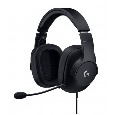 Logitech G PRO 3.5mm Single & Dual port Gaming Headphone Black