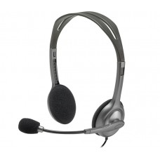 Logitech H110 STEREO Headset (Two port)