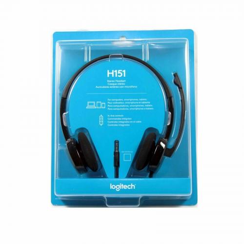 Logitech H151 STEREO Headset (One port)