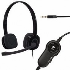 Logitech H151 STEREO Headset (One port)
