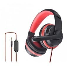 OVLENG OV-P6 3.5mm Stereo LED Light Gaming Headphone Black-Red