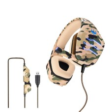 OVLENG Q9 E-sports Stereo Surrounded HiFi Gaming Headphone Army-Yellow