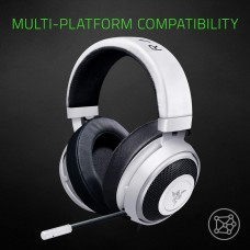 Razer Kraken 7.1 V2 Mercury Edition - Oval Ear Cushions Gaming Headset