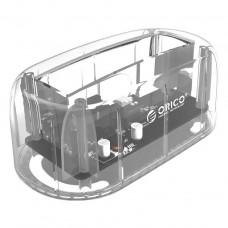 ORICO 6139U3 2.5 & 3.5 inch USB 3.0 Transparent Single Bay Hard Drive Dock