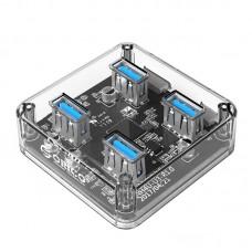 Orico MH4U-U3 4 Port USB 3.0 Transparent HUB
