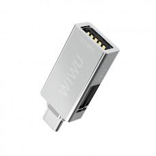 WiWu T02 USB Type-C Hub