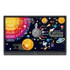 "Benq RP7501K 75"" 4K UHD Education Interactive Flat Panel Display"