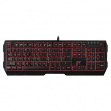 A4TECH Bloody Q135 Illuminate Red Backlit Gaming Keyboard