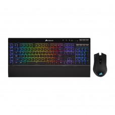 Corsair K57 RGB Wireless Keyboard and HARPOON RGB Wireless Gaming Bundle