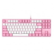 Dareu EK87 Gaming Keyboard (Pink)