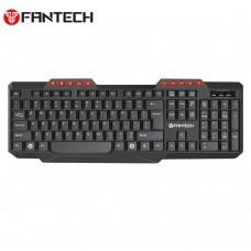 Fantech K210 Silent Multimedia USB Office Use Keyboard Black