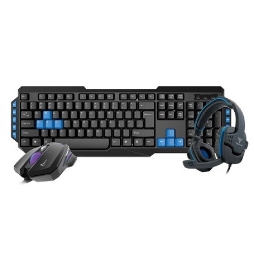 Gamdias POSEIDON E1 COMBO Keyboard, Mouse And Headphone