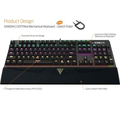 Gamdias HERMES M1 Mechanical Gaming Keyboard Price In