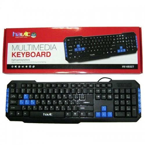 403c5825412 HAVIT HV-KB327 Multimedia Keyboard Price in Bangladesh | Star Tech