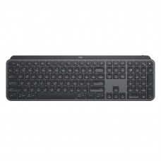 Logitech MX Keys Advanced Wireless Bluetooth Illuminated Keyboard Black