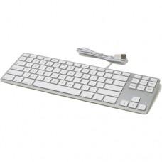 Matias Aluminum Tenkeyless Wired Keyboard for Mac (Silver, Space Grey)