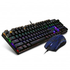 MotoSpeed CK666 NKRO Optical Mechanical RGB Gaming Keyboard Mouse Combo