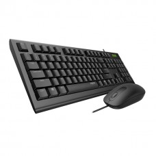 Rapoo X120 Pro Wired Optical Mouse & Keyboard Combo