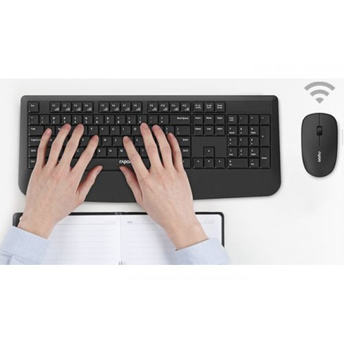 Rapoo X1900 Wireless Optical Mouse and Keyboard