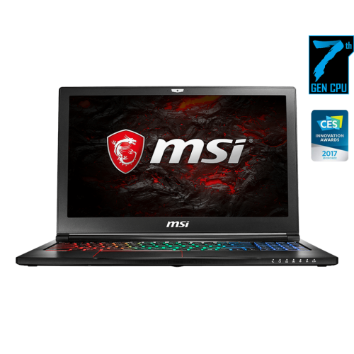 MSI GS63VR 7RF Stealth Pro 7th Gen Core i7 16GB Ram With Graphics Full HD Laptop