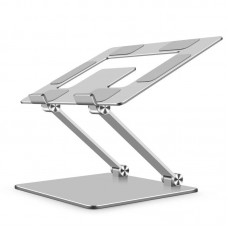 """Dual Axis Adjustable Aluminum Laptop Stand for 17"""" Laptop"""