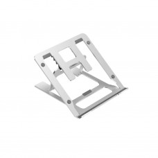 ZH004 Foldable Aluminum Frame 5 Angle Adjustable Laptop Stand