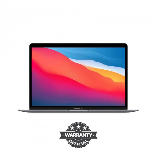 Apple MacBook Air 13.3-Inch Retina Display 8-core Apple M1 chip with 8GB RAM, 256GB SSD (MGN63) Space Gray