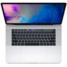 Apple MacBook Pro 15-inch Retina Display with Touch Bar, Core i7, 16GB Ram, 256GB SSD, Dedicated Graphics, Silver MR962LL/A (2018)