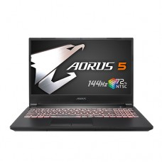 "Gigabyte Aorus 5 KB Core i7 10th Gen RTX 2060 Graphics 15.6"" 144Hz FHD Gaming Laptop"