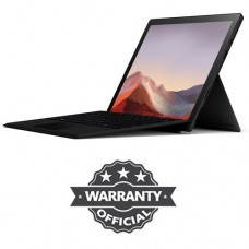 Microsoft Surface Pro 7 10th Gen Core i5 8GB RAM 256GB SSD Touch Display Black Color Notebook with Type Cover Keybaord (QWV-00007)