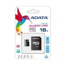 Adata 16GB UHS-1 Class 10 Micro SD Memory Card With Adapter