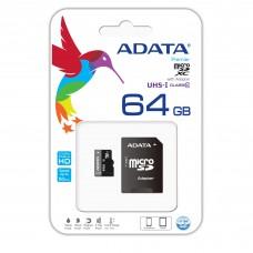 ADATA 64 GB Micro SDHC Card Class 10