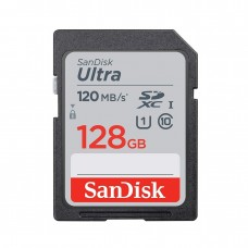 Sandisk Ultra 128GB SDXC Class-10 120Mbps Memory Card