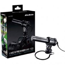 Avermedia AM133 Live Streamer 3.5mm Microphone Black